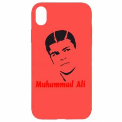 Чехол для iPhone XR Muhammad Ali - FatLine