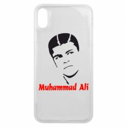 Чехол для iPhone Xs Max Muhammad Ali - FatLine