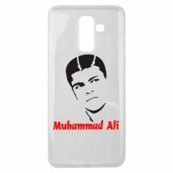 Чехол для Samsung J8 2018 Muhammad Ali