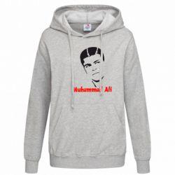Женская толстовка Muhammad Ali