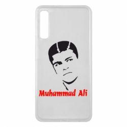 Чехол для Samsung A7 2018 Muhammad Ali