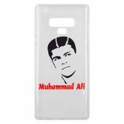 Чехол для Samsung Note 9 Muhammad Ali