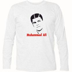 Футболка с длинным рукавом Muhammad Ali - FatLine