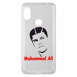 Чехол для Xiaomi Redmi Note 6 Pro Muhammad Ali