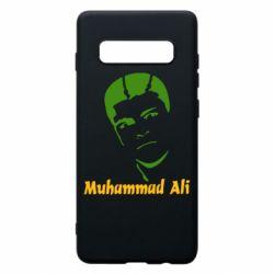 Чехол для Samsung S10+ Muhammad Ali