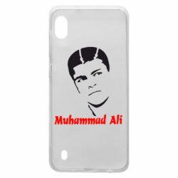 Чехол для Samsung A10 Muhammad Ali