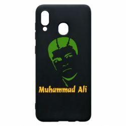 Чехол для Samsung A30 Muhammad Ali