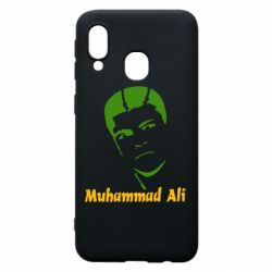 Чехол для Samsung A40 Muhammad Ali