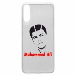 Чехол для Samsung A70 Muhammad Ali