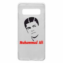Чехол для Samsung S10 Muhammad Ali