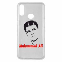 Чехол для Samsung A10s Muhammad Ali
