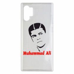 Чехол для Samsung Note 10 Plus Muhammad Ali