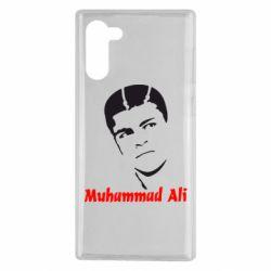 Чехол для Samsung Note 10 Muhammad Ali