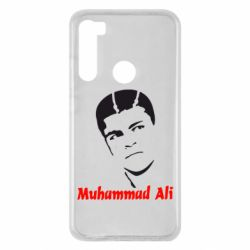 Чехол для Xiaomi Redmi Note 8 Muhammad Ali