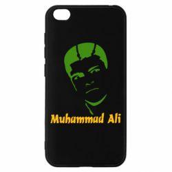 Чехол для Xiaomi Redmi Go Muhammad Ali