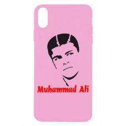 Чехол для iPhone X Muhammad Ali - FatLine