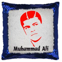 Подушка-хамелеон Muhammad Ali