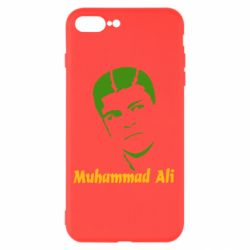 Чехол для iPhone 8 Plus Muhammad Ali - FatLine