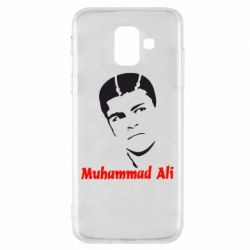 Купить Бокс/Кикбоксинг, Чехол для Samsung A6 2018 Muhammad Ali, FatLine