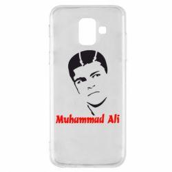 Чехол для Samsung A6 2018 Muhammad Ali