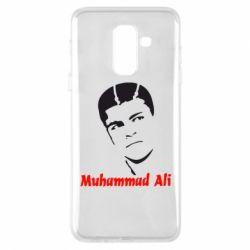 Купить Бокс/Кикбоксинг, Чехол для Samsung A6+ 2018 Muhammad Ali, FatLine