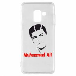 Чехол для Samsung A8 2018 Muhammad Ali