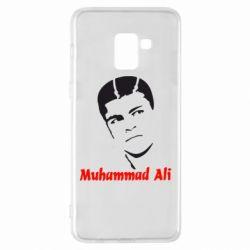 Чехол для Samsung A8+ 2018 Muhammad Ali