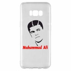 Чехол для Samsung S8+ Muhammad Ali