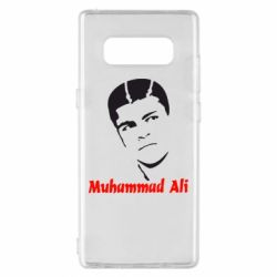 Чехол для Samsung Note 8 Muhammad Ali