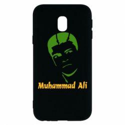 Чехол для Samsung J3 2017 Muhammad Ali
