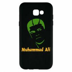Чехол для Samsung A7 2017 Muhammad Ali