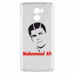 Чехол для Xiaomi Redmi 4 Muhammad Ali