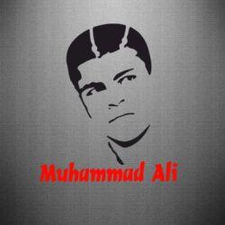 Наклейка Muhammad Ali