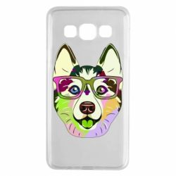 Чохол для Samsung A3 2015 Multi-colored dog with glasses