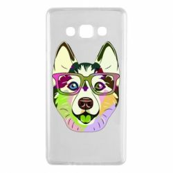 Чохол для Samsung A7 2015 Multi-colored dog with glasses