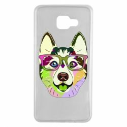 Чохол для Samsung A7 2016 Multi-colored dog with glasses