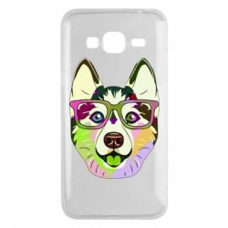 Чохол для Samsung J3 2016 Multi-colored dog with glasses