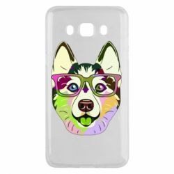 Чохол для Samsung J5 2016 Multi-colored dog with glasses