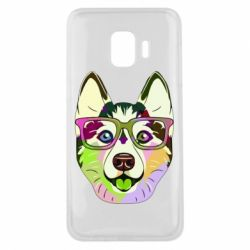 Чохол для Samsung J2 Core Multi-colored dog with glasses
