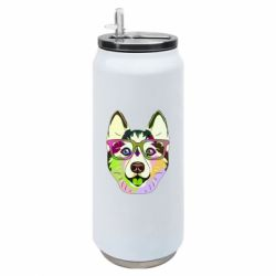 Термобанка 500ml Multi-colored dog with glasses