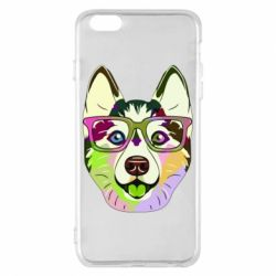 Чохол для iPhone 6 Plus/6S Plus Multi-colored dog with glasses