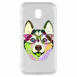 Чохол для Samsung J3 2017 Multi-colored dog with glasses