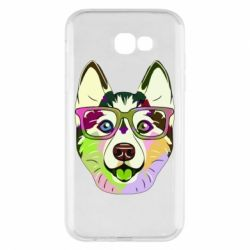 Чохол для Samsung A7 2017 Multi-colored dog with glasses
