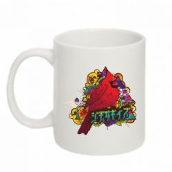 Кружка 320ml Multicolor birds - FatLine