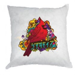 Подушка Multicolor birds - FatLine