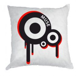 Подушка Muse logo - FatLine