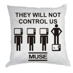 Подушка MUSE They will not control us - FatLine