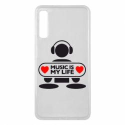 Чохол для Samsung A7 2018 Music is my life