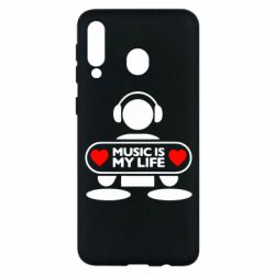 Чохол для Samsung M30 Music is my life