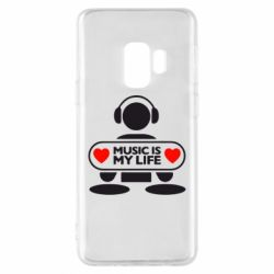 Чохол для Samsung S9 Music is my life